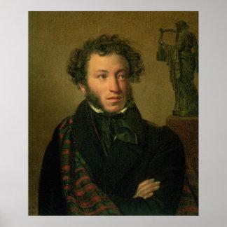 Retrato de Alexander Pushkin 1827 Impresiones