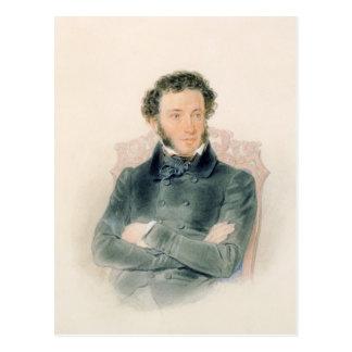 Retrato de Alexander Pushkin 1836 Tarjetas Postales