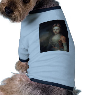 Retrato de Alexandra de Vladimir Borovikovsky Camisetas Mascota