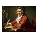 Retrato de Alfonso Leroy, 1783 Postal