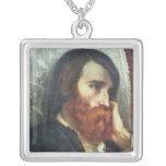 Retrato de Alfred Bruyas Collar Plateado