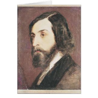 Retrato de Alfred de Musset Felicitacion