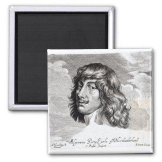 Retrato de Algernon Percy Iman Para Frigorífico