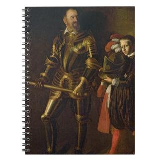 Retrato de Alof de Wignacourt gran maestro del th Cuaderno