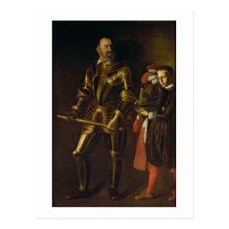 Retrato de Alof de Wignacourt, gran maestro del th Tarjetas Postales