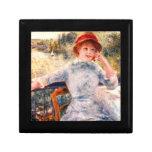Retrato de Alphonsine Fournaise de Pedro Renoir Caja De Regalo