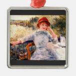 Retrato de Alphonsine Fournaise de Pedro Renoir Adorno