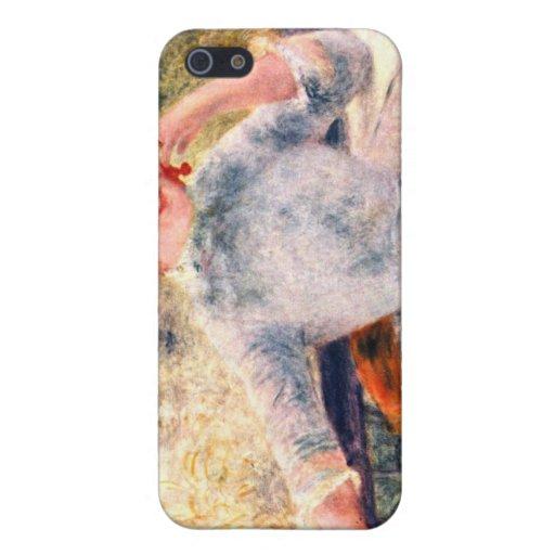 Retrato de Alphonsine Fournaise de Pedro Renoir iPhone 5 Cobertura