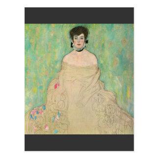 Retrato de Amalie Zuckerkandl de Gustavo Klimt Tarjeta Postal