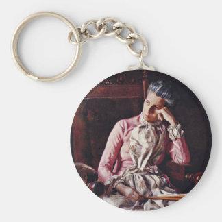 Retrato de Amelia Van Buren de Thomas Eakins ( Llavero Personalizado