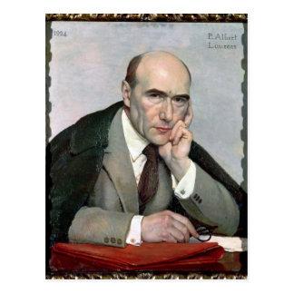 Retrato de Andre Gide 1924 Tarjeta Postal