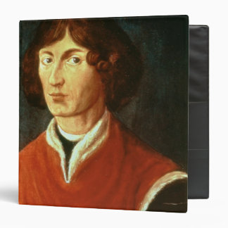 "Retrato de Andreus Nicolás Copernicus 1575 Carpeta 1 1/2"""