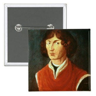 Retrato de Andreus Nicolás Copernicus 1575 Pin Cuadrada 5 Cm