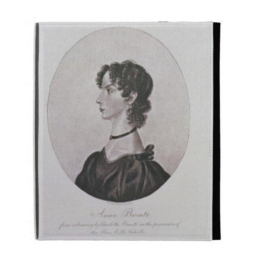 Retrato de Anne Bronte (1820-49) de un dibujo i