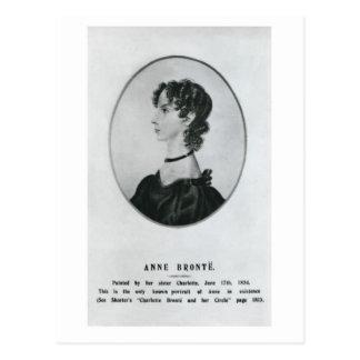 Retrato de Anne Brontë Postales