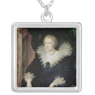 Retrato de Anne de Austria c.1622 Collar Plateado