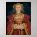 Retrato de Anne de Cleves 1539 Póster