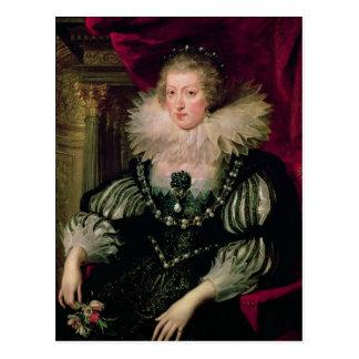 Retrato de Anne de la infanta de Austria de España Tarjetas Postales