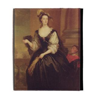 Retrato de Anne Howard, señora Yonge (aceite en lo