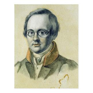 Retrato de Antón A. Delvig, 1830 Postal