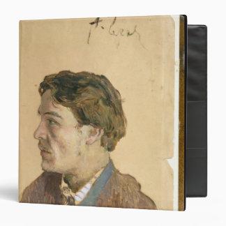 """Retrato de Antón Chekhov Carpeta 1 1/2"""""""