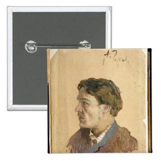 Retrato de Antón Chekhov Pin