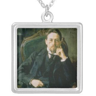 Retrato de Antón Pavlovich Chekhov, 1898 Grimpola