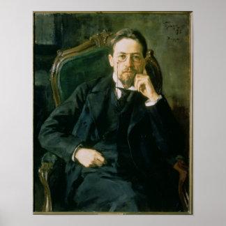 Retrato de Antón Pavlovich Chekhov, 1898 Impresiones