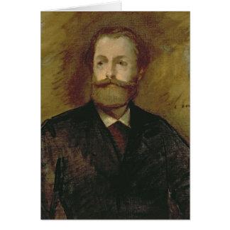 Retrato de Antonin Proust c.1877-80 Tarjeta De Felicitación