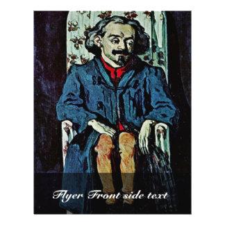 Retrato de Aquiles Emperaire de Paul Cézanne Tarjetas Publicitarias