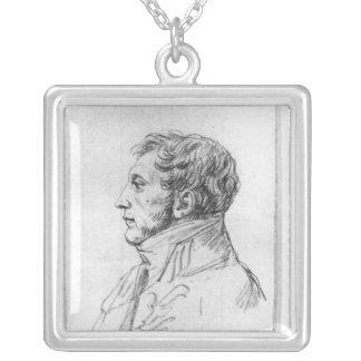 Retrato de Armand Agustín Louis Colgante Cuadrado