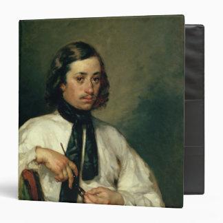 """Retrato de Armand Ono, conocido como el hombre con Carpeta 1 1/2"""""""