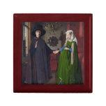Retrato de Arnolfini - Jan van Eyck Caja De Recuerdo