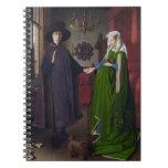 Retrato de Arnolfini - Jan van Eyck Libros De Apuntes Con Espiral