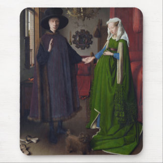 Retrato de Arnolfini - Jan van Eyck Alfombrillas De Raton
