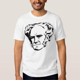 Retrato de Arthur Schopenhauer Remera