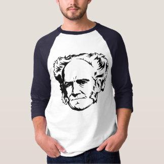 Retrato de Arthur Schopenhauer Remeras