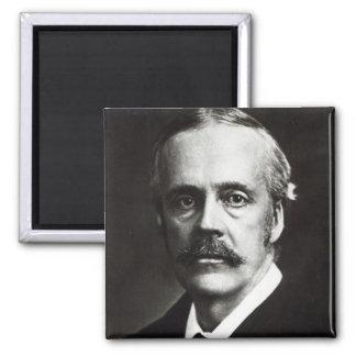 Retrato de Arturo James Balfour Imán Cuadrado