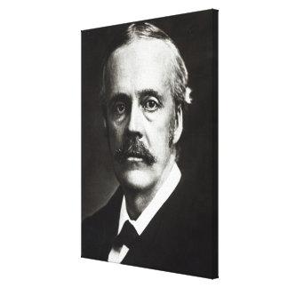 Retrato de Arturo James Balfour Impresión En Lienzo