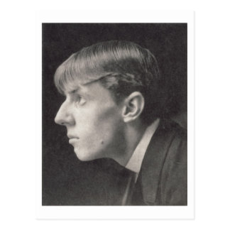 Retrato de Aubrey Beardsley (1872-98) por Federico Postal