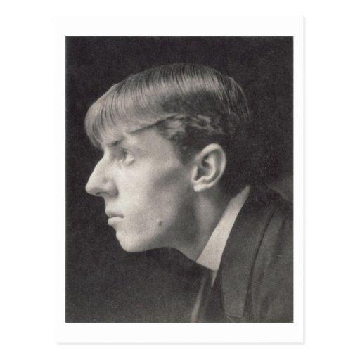 Retrato de Aubrey Beardsley (1872-98) por Federico Postales