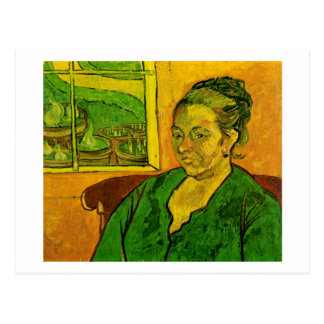Retrato de Augustine Roulin, Vincent van Gogh Tarjeta Postal