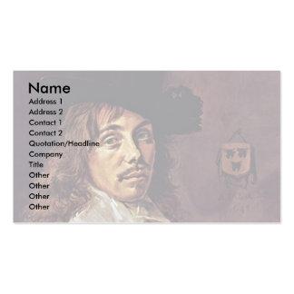 Retrato de Baltasar Coymans de Hals Francisco Tarjetas De Visita