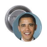 Retrato de Barack Obama Pin