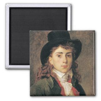 Retrato de barón Antoine Jean Gros envejecido 20 Imán De Frigorifico