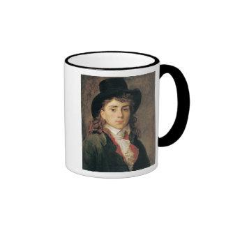 Retrato de barón Antoine Jean Gros envejecido 20 Taza De Dos Colores