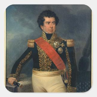 Retrato de barón Duperre, 1839 del Pegatina Cuadrada