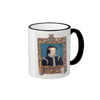 Retrato de baronesa Willoughby de Katherine d Eres Tazas De Café
