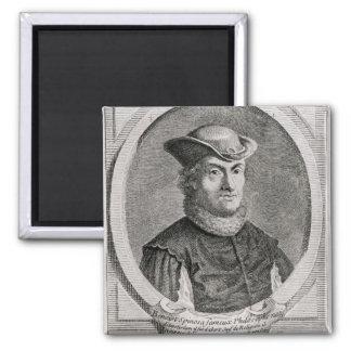 Retrato de Baruch o de Benedicto Spinoza Imán Cuadrado