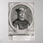 Retrato de Baruch o de Benedicto Spinoza Póster